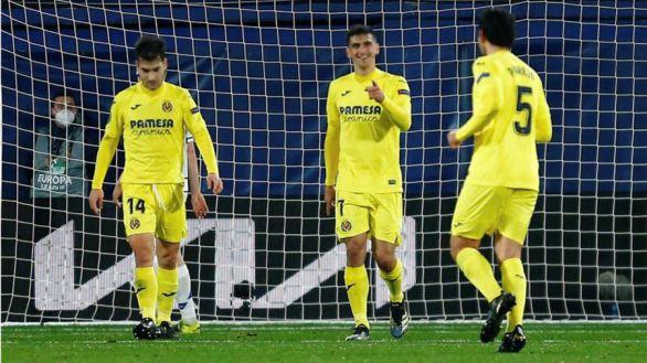 Liga Europa. Un doblete de Moreno solventa una plácida vuelta ante el Dinamo |2-0