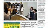 Las portadas de los periódicos de este viernes, 19 de marzo