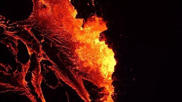 El volcán Fagradalsfjall entra en erupción en la región de capitalina de Islandia
