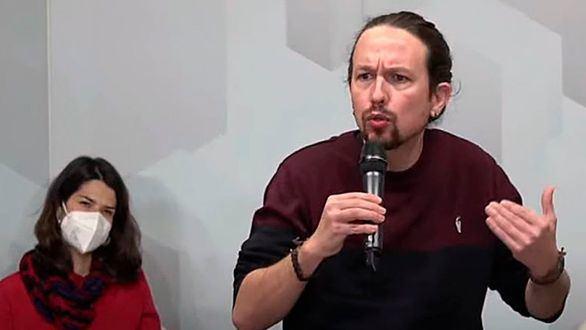 Iglesias entra en campaña con críticas a Sánchez por la Ley de Vivienda