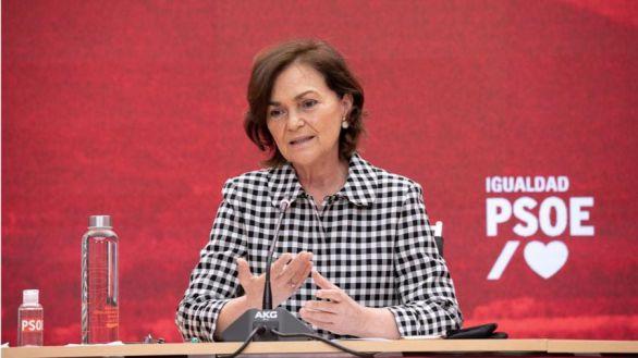 Carmen Calvo propone una ley para prohibir la prostitución en España