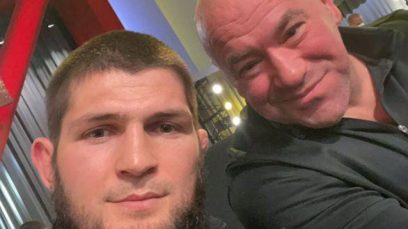 UFC. ¿Por qué Dana White no ha convencido a Khabib Nurmagomedov?