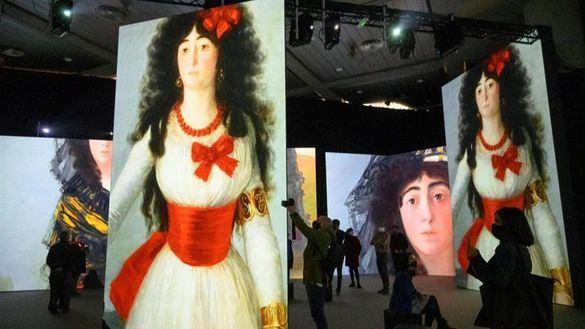 Los cuadros de Goya cobran vida en una gira mundial que arranca en Granada