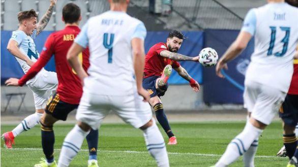 Europeo sub21. España acelera para vencer a Eslovenia en la segunda mitad |0-3