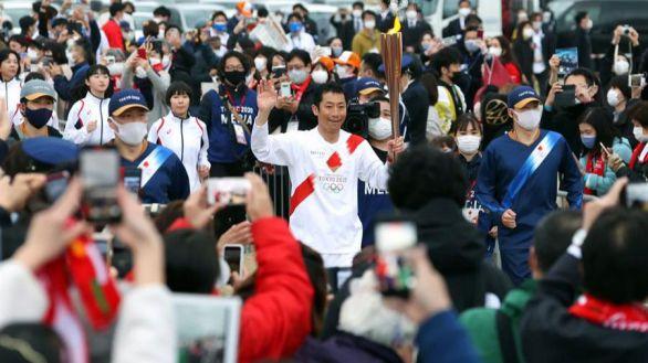 Tokio 2020. La llama olímpica recorre la prefectura de Fukushima