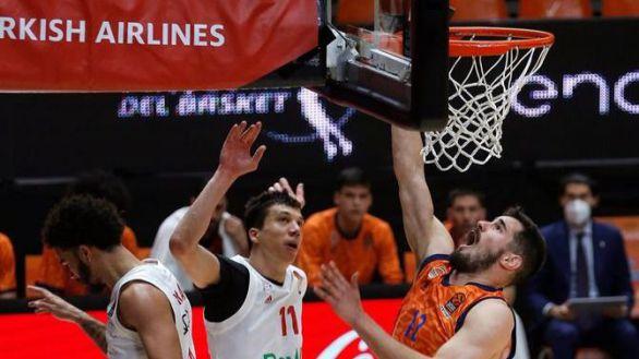 Euroliga. La garra del Valencia Basket le mantiene a flote | 83-76