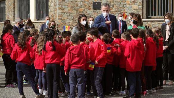 Los Reyes prosiguen su visita a Andorra, la primera de un monarca español