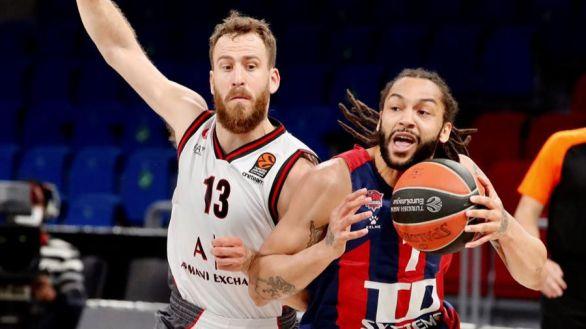 Euroliga. El Baskonia domina al Milan y apura sus opciones | 86-69
