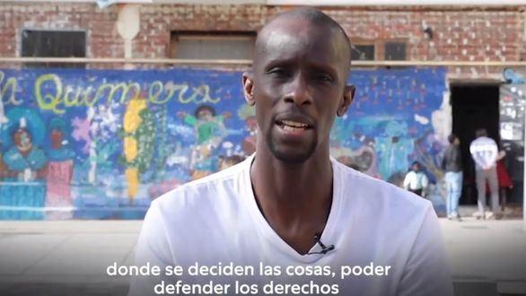Iglesias ficha al portavoz del Sindicato de Manteros para las elecciones de Madrid