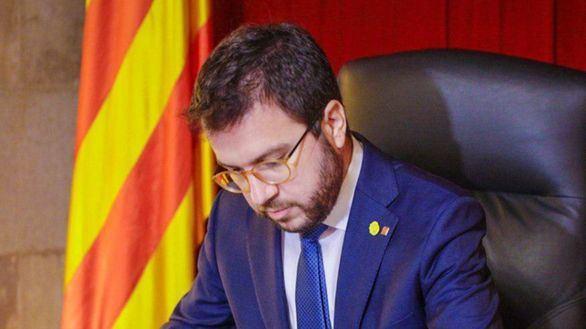 Aragonès fracasa por segunda vez para ser investido presidente por la abstención de JxCat