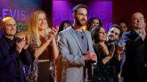Dani Rovira y sus principales colaboradores despiden la primera temporada de 'La noche D'.