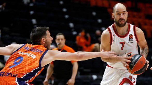 Euroliga. El Valencia Basket no puede con el Olympiacos y se complica | 79-88