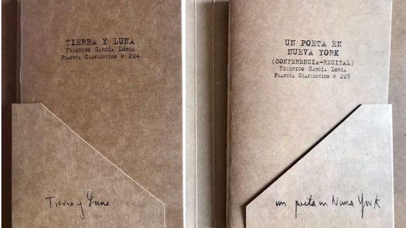 Tierra y Luna, el poemario 'perdido' de Lorca editado como lo concibió