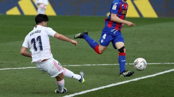 El Real Madrid cumple frente el Eibar antes de subir el Everest | 2-0