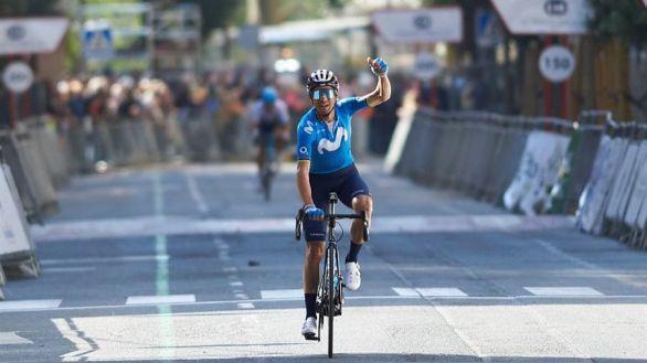 GP Miguel Induráin. Valverde asombra: triunfo y plusmarca con 40 años