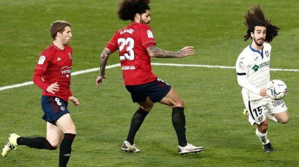 Osasuna y Getafe comparten sus problemas | 0-0