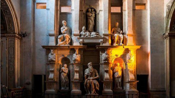 Desvelan los 'efectos especiales' de luz que Miguel Ángel estudió para su Moisés