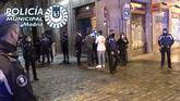 Semana Santa en Madrid: la Policía interviene 117 fiestas ilegales diarias