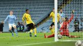 Foden rescata a un City en apuros ante el Dortmund |2-1