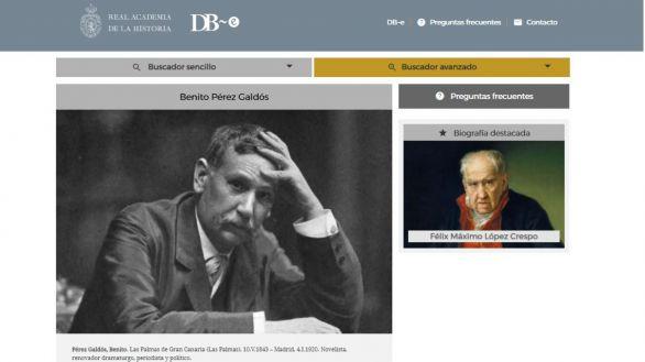 Acceso libre y gratuito a las biografías de 50.000 personajes de la historia hispánica