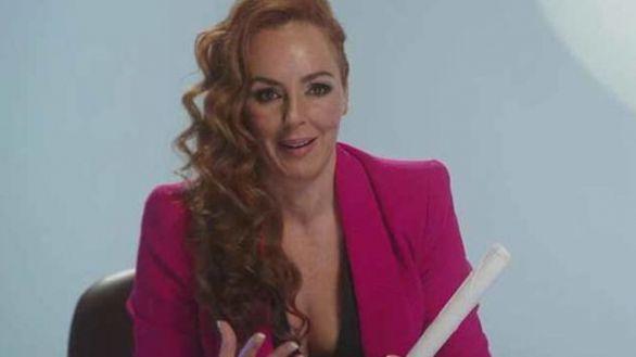 Rocío Carrasco en la primera emisión de 'Rocío, contar la verdad para seguir viva' en miércoles.