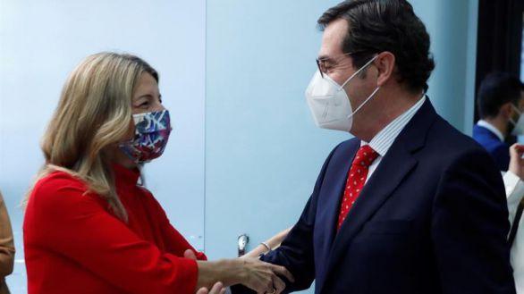 Díaz anuncia que los ERTE se prorrogarán tras el 31 de mayo con una fórmula similar