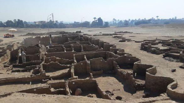 Una ciudad perdida de 3.000 años en Luxor, el hallazgo más importante desde Tutankamón