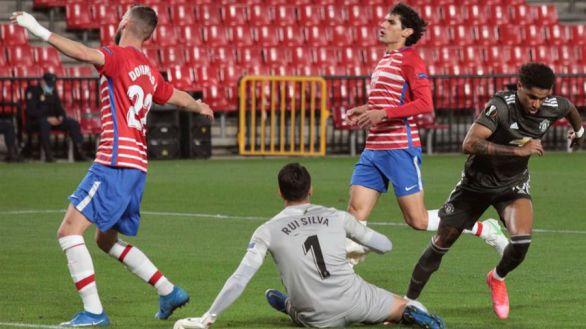 Liga Europa. Dos despistes condenan al Granada ante el United |0-2