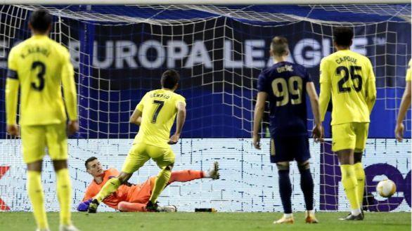 Liga Europa. El Villarreal toma ventaja desde el punto de penalti |0-1
