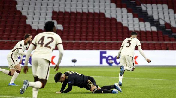 Liga Europa. La Roma da un paso de gigante ante el Ajax |1-2