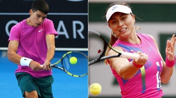 Alcaraz y Badosa asombran: igualar un hito de Rafa Nadal y ganar a la número uno