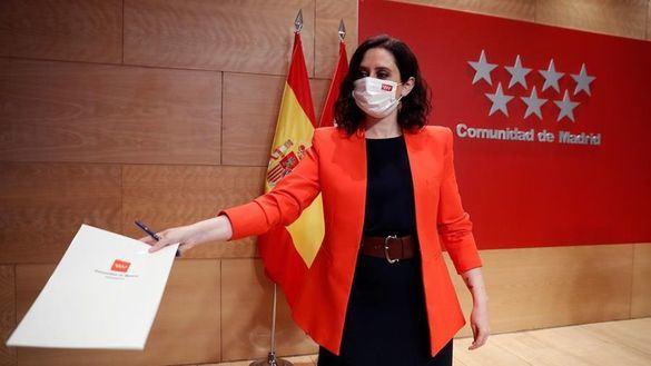 Isabel Díaz Ayuso propone en Madrid