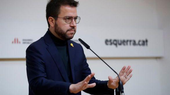 Aragonès apremia a JxCat a cerrar un acuerdo de gobierno con ERC