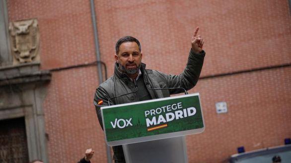 Abascal: 'No nos van a encontrar en el enfrentamiento a pesar de las piedras'