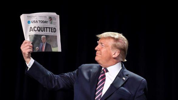Trump reaparece para insistir en el fraude y atacar al líder republicano del Senado