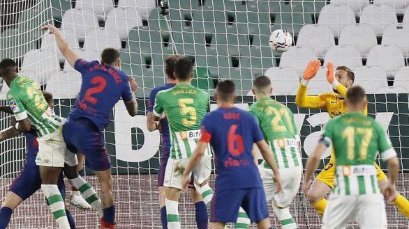 El Betis confirma el tembleque del Atlético | 1-1