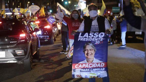 El conservador Eduardo Lasso gobernará Ecuador