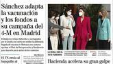 Las portadas de los periódicos de este martes 13 de abril