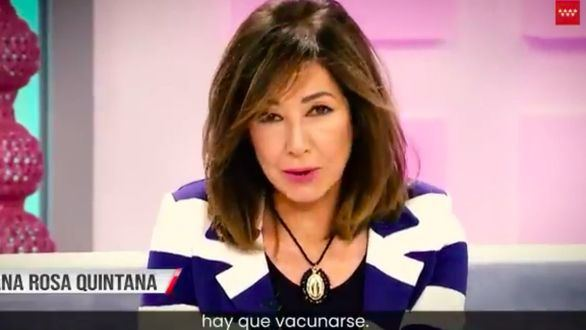 Madrid recurre a rostros famosos para animar a vacunarse contra la covid