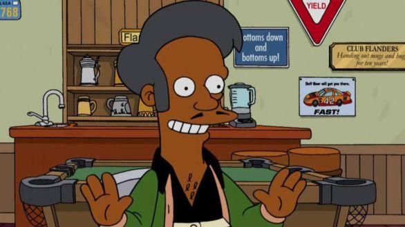'Apu', de Los Simpson, pide perdón a la comunidad india