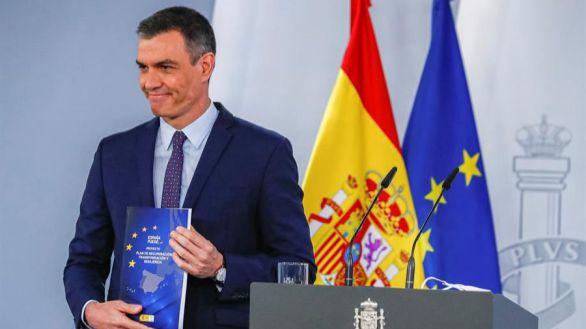 Sánchez presenta en el Congreso el plan de recuperación: 102 reformas y 110 inversiones