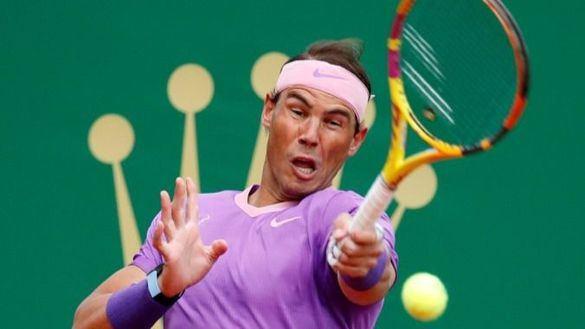Rafael Nadal en Monte Carlo.