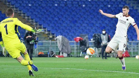 Liga Europa. Dzeko desactiva la reacción del Ajax |1-1