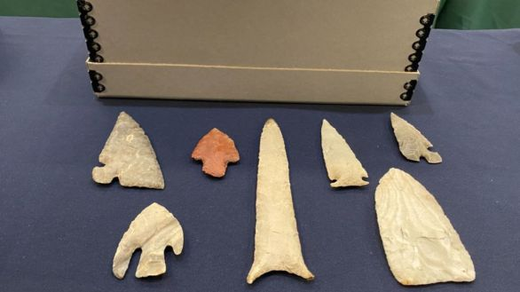 Estados Unidos devuelve a México 523 piezas arqueológicas