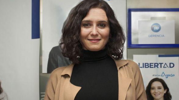 La presidenta de la Comunidad de Madrid y candidata del PP a las elecciones del 4 de mayo, Isabel Díaz Ayuso.