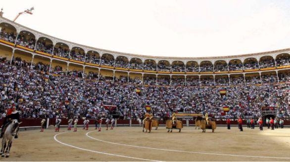 La plaza de Toros de Las Ventas.