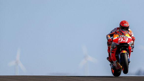 Moto GP. Márquez saldrá sexto en su regreso al campeonato