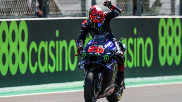 Moto GP. Márquez, séptimo en su regreso bajo el dominio de Quartararo