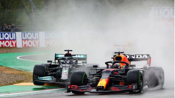 F1. Verstappen se reivindica en el caos de Imola