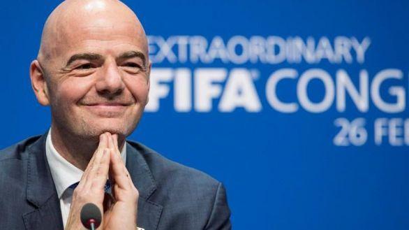 Imagen de archivo del presidente de la FIFA, Gianni Infantino.